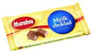 marabou choklad socker