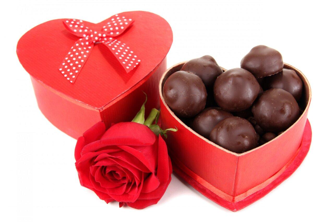 alla hjärtans choklad
