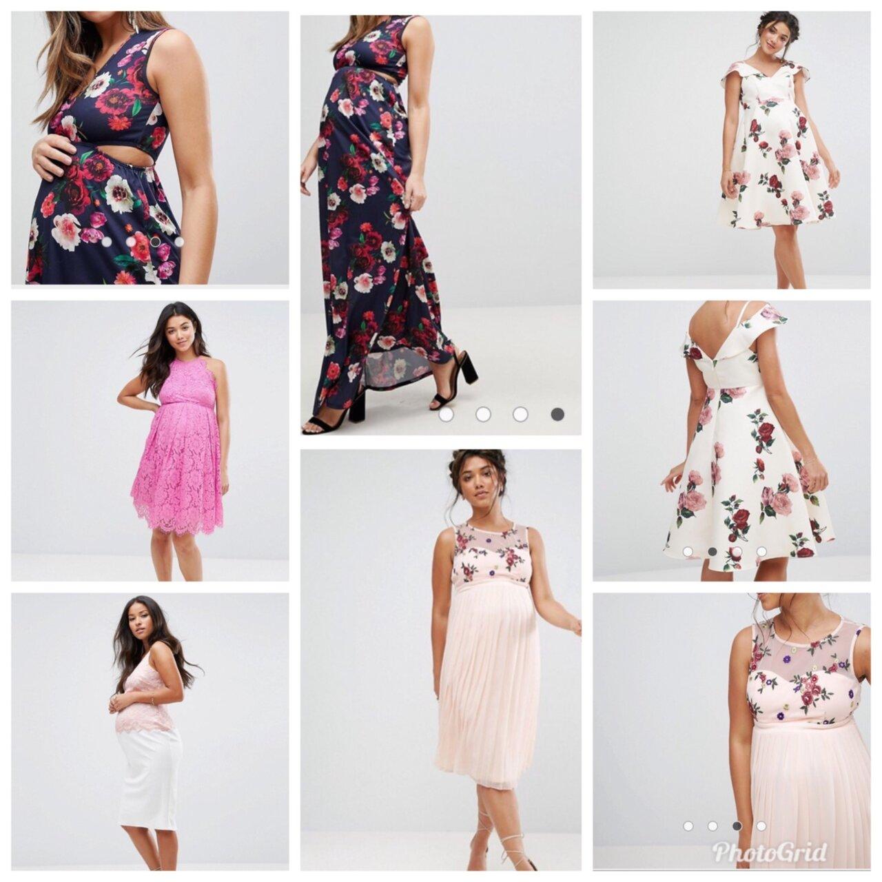 fin klänning gravid