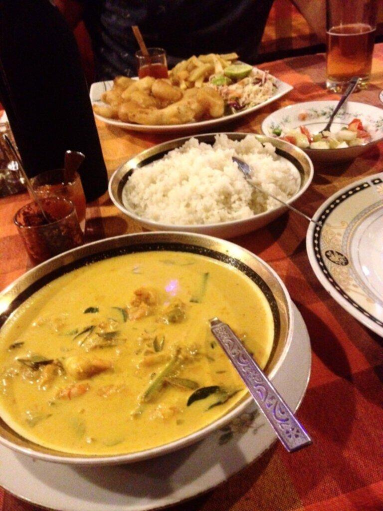 Curry Med Citrongras Pumpa Indiska Kryddor