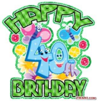 grattis 40 år 9/1 13 GRATTIS LENA 40 ÅR!!!!! grattis 40 år