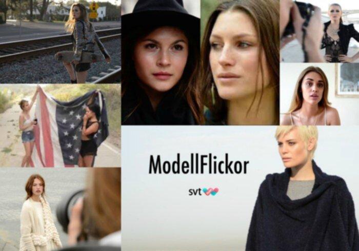 Modellflickor