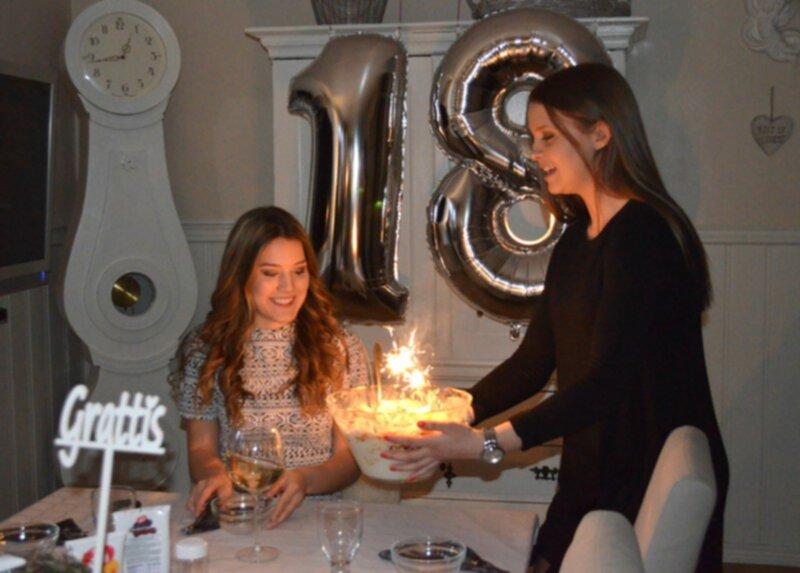 18 års firande 18 års firande för mig 18 års firande